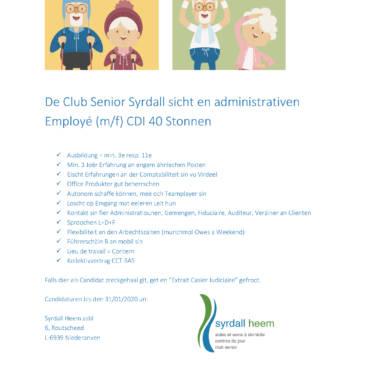 Recrutement : Employé Administratif