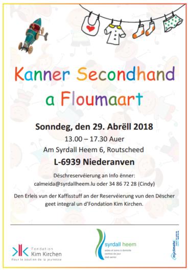 Kanner Secondhand a Floumaart